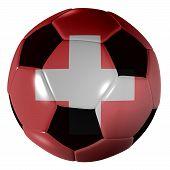 Football Suisse Flag