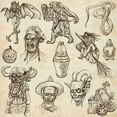 Halloween - An Hand Drawn Vector Pack