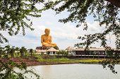 Statue Of Buddhist Monk