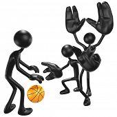 Basketball Big Hand Defense