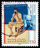 Postage Stamp Germany 1998 Manfred Hausmann, Writer And Journali