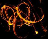 Fire Show Fiery Motion