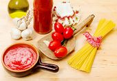 Tomato Sauce With Genuine Ingredients
