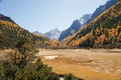 Scenery of Yading in Daocheng county, Sichuan of China