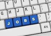 3D Keyboard - Word Jobs