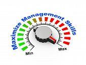 3D Knob - Maximize Management Skills