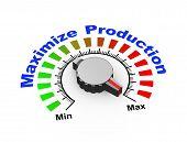3D Knob - Maximize Production