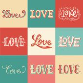 Vintage Love Hand-lettering