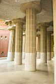 Inclined Columns Hipóstila Room.