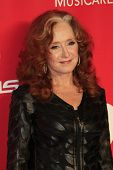LOS ANGELES - FEB 6:  Bonnie Raitt at the MusiCares 2015 Person Of The Year Gala at a Los Angeles Convention Center on February 6, 2015 in Los Angeles, CA