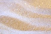 Magic glitter Sand, flachen Dof, andere Art von Color lights
