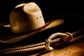 American West Rodeo Cowboy Lasso