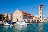 Evangelismos Church Rhodes