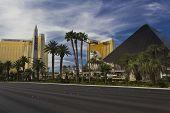 Day View Of Las Vegas Strip, Egyptian pyramid