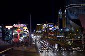 Las Vegas Strip By Night