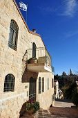Yemin Moshe neighborhood in Jerusalem Israel