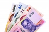 Thai Baht Currency Bills