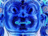 tibetan budddah inverted