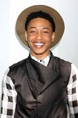 LOS ANGELES - FEB 6:  Jacob Latimore at the MILF (Moms I like To Follow) Celebration Of Entertainment at a SLS Hotel on February 6, 2015 in Beverly Hills, CA
