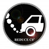 Reduce Carbon Emblem