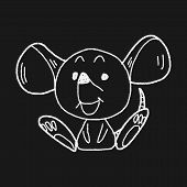 picture of mouse trap  - Chinese Zodiac Mouse Doodle Drawing - JPG