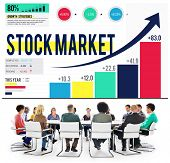 foto of stock market data  - Stock Market Stock Exchange Trade Digital Concept - JPG