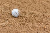 Ball In Bunker