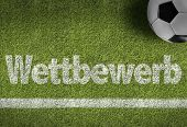 pic of competition  - Soccer field with the text - JPG