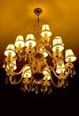 picture of flambeau  - grand crystal chandelier - JPG