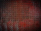 grunge diamond plate background