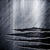 metal rayado