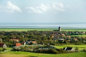 Typical Dutch Village Hollum