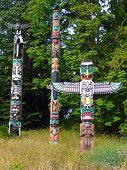 Vancouver Totem Polls