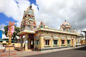 Tamil Temple In Mauritius Capital City Port Louis
