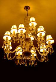 pic of flambeau  - grand crystal chandelier - JPG
