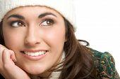 Beautiful Winter Lady