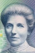 Kate Sheppard A Portrait From New Zealand Money poster
