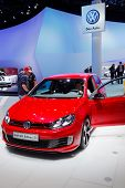 FRANKFURT - SEP 17: Volkswagen Golf GTI concept car shown at the 64th Internationale Automobil Ausst