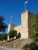 Castle Of Saint George In Lisbon