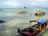 Boats Offshore Of Samoa