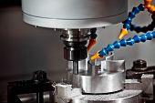 Milling Machining Center, Cnc Turning Center Metal Processing Machine poster