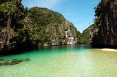 A Blissful Water Scene El Nido Palawan Philippines