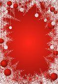 Icy Christmas Frame