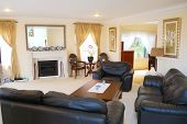 stylish interior design with elegant furniture