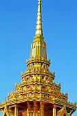 Thai art at Phra Men, Bangkok, Thailand.