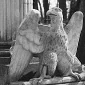 Statue Of An Eagle As A Symbol Of Power, Grandeur, And Power