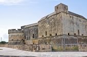 Castle of Acaya. Vernole. Puglia. Southern Italy.