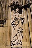 Statue of Gloucester Cathedral