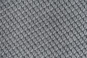 Fabric Texture Or Fabric Background. Gray Colors Fabric. poster