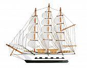 Copy Of An Old Sailing Ship